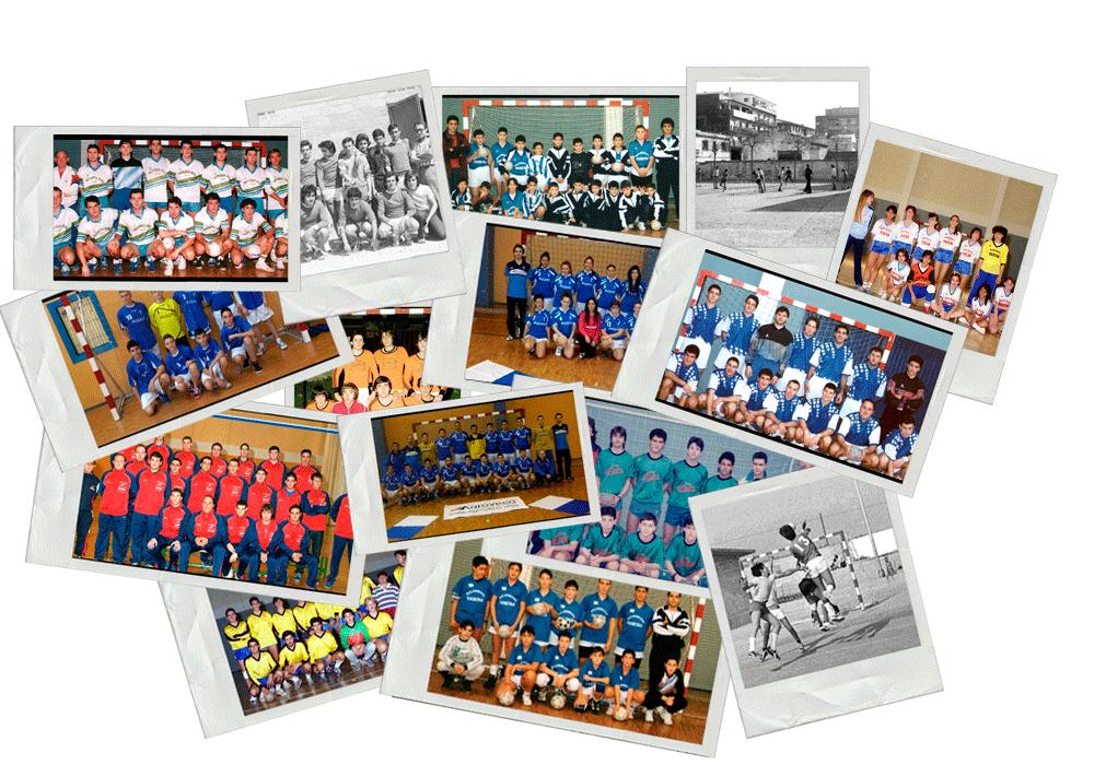 Historia del Balonmano Casetas en fotografías